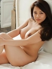 Amazing and sexy Japanese av idol Mei Matsumoto shows her silky beautiful body